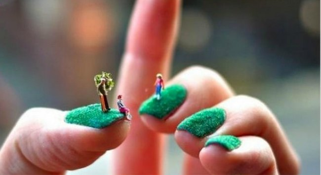 Sushi nail art and other impractical manicure trends the next frontier in nail art is really really impractical prinsesfo Gallery