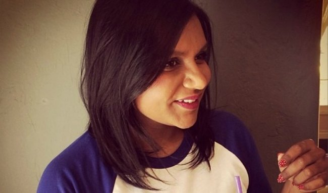 Mindy Kaling haircut