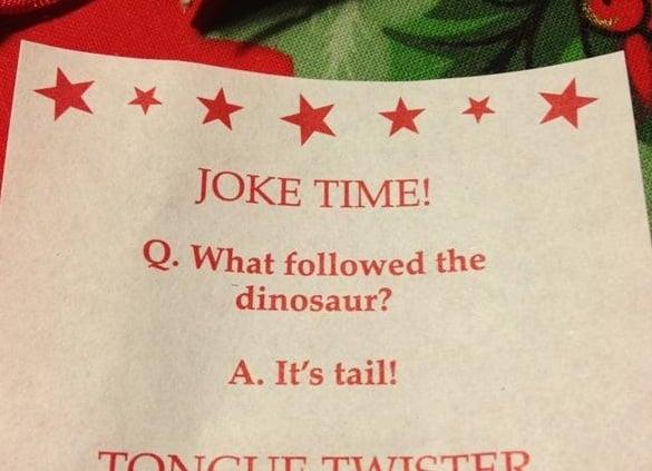 christmas cracker jokes advent calendar