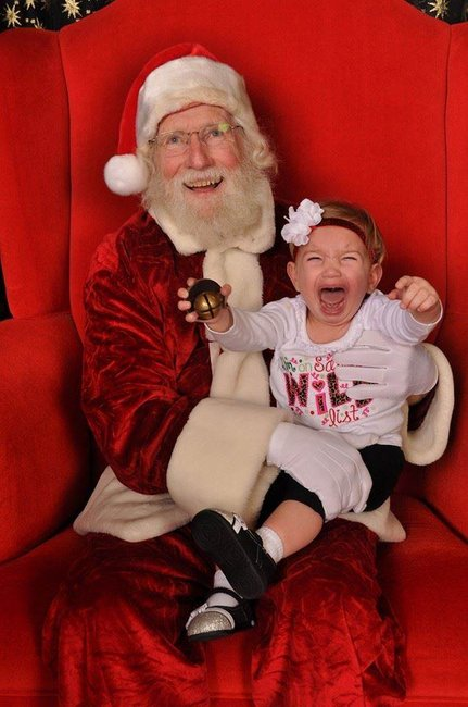 hilarious santa photos