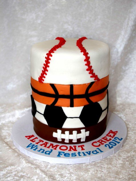 Here are 17 sports birthday cakes we are certain your kids will love