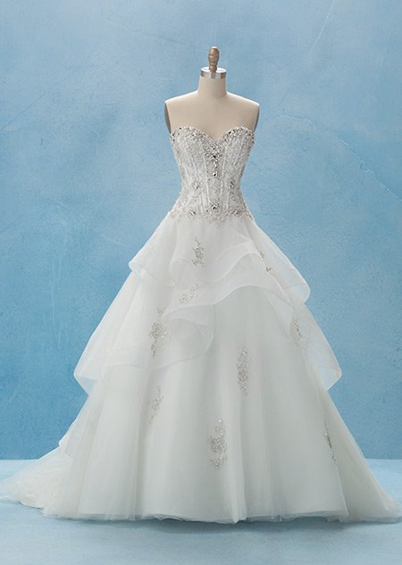The Disney Princess inspired wedding dresses every little girl wants.