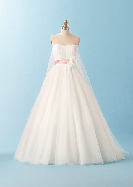 The disney princess inspired wedding dresses every little girl wants 2013 snow white 2013 junglespirit Image collections