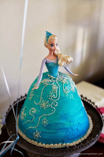 Blue Ice Candy Cake Decorations