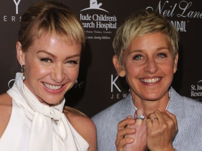 Portia De Rossi is said to have checked into rehab for drug problems