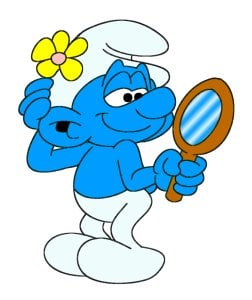 Kids' TV characters thought to be gay: Vanity Smurf