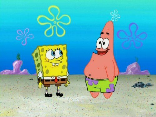 Kids' TV characters thought to be gay: Spongebob Squarepants