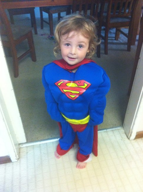 Merryn is Supergirl
