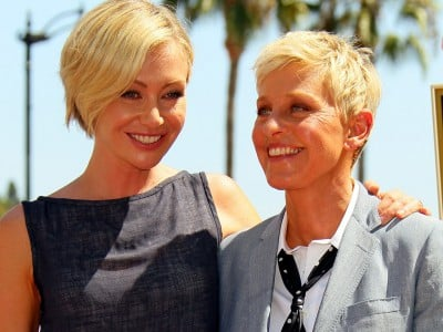 Portia DeGeneres back home to shoot a movie with Hamish Blake