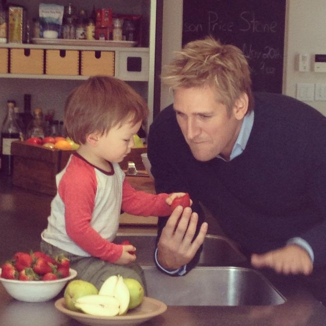 Curtis Stone says his son eats everything