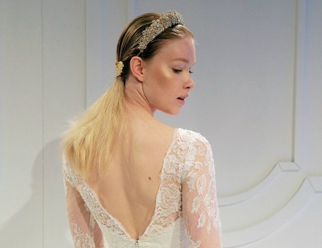 The second hand wedding dresses australia store you need to know from our partner galia lahev ss 17sweep hair off the face with a gorgeous encrusted crown a la galia lahev ombrellifo Choice Image
