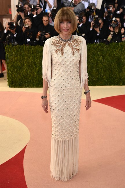 Anna Wintour Met Gala 2016 getty