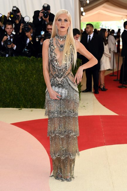Poppy Delevingne Met Gala 2016 getty