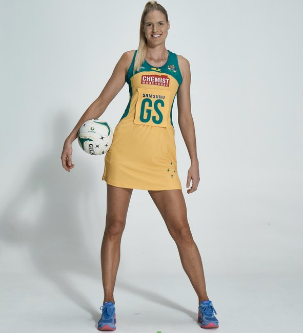 Caitlin Bassett On How Netball Helped Her Love Her Height
