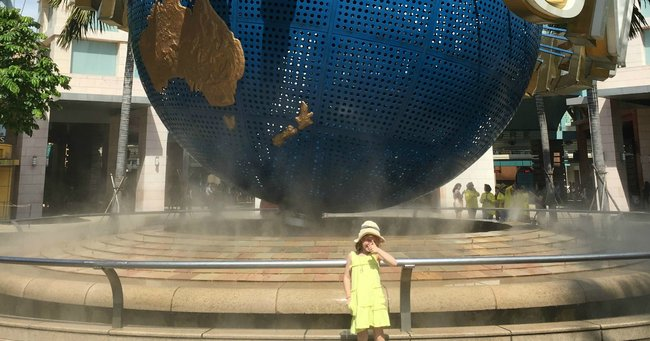 travelling Singapore with kids
