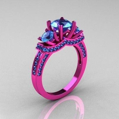 Strange wedding rings