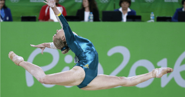 Larrissa Miller Olympics Gymnast Recovers After Fall At Rio