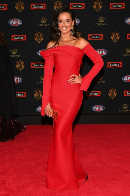 Female Afl Players Are At The Brownlow Medal Tonight