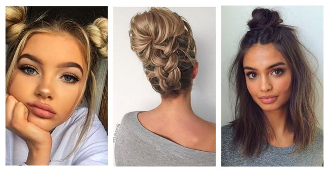 cute hair styles for shoulder length hair 20 easy hairstyles for and medium length hair 1379 | PicMonkey Collage
