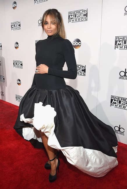 Ciara AMAs dress