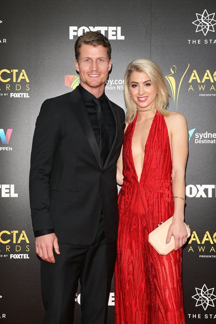 Richie Strahan and Alex Nation AACTAs