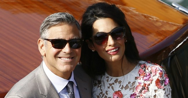 how did george and amal clooney meet