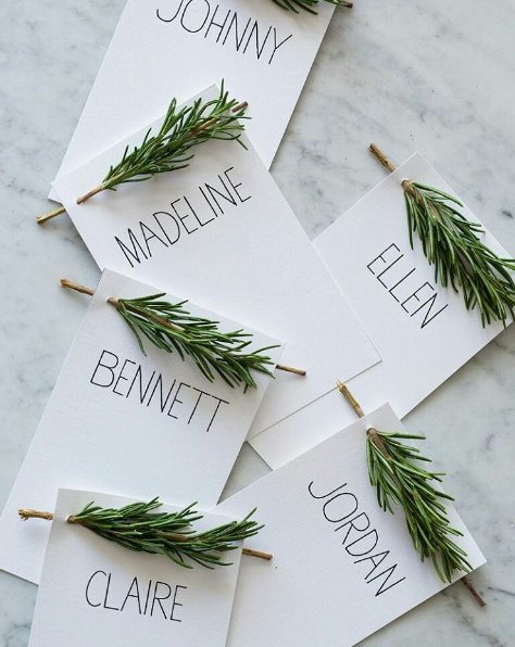 budget wedding tables