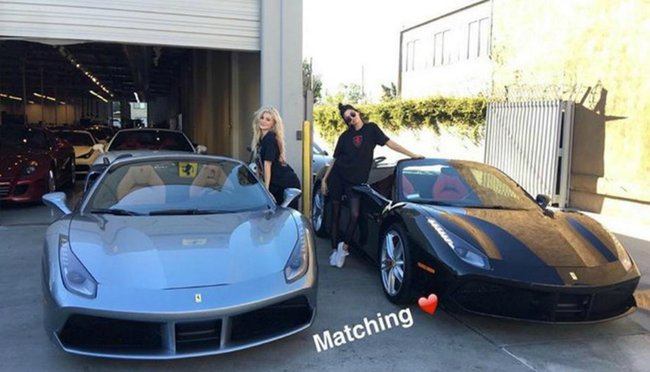 female celebrity car lovers