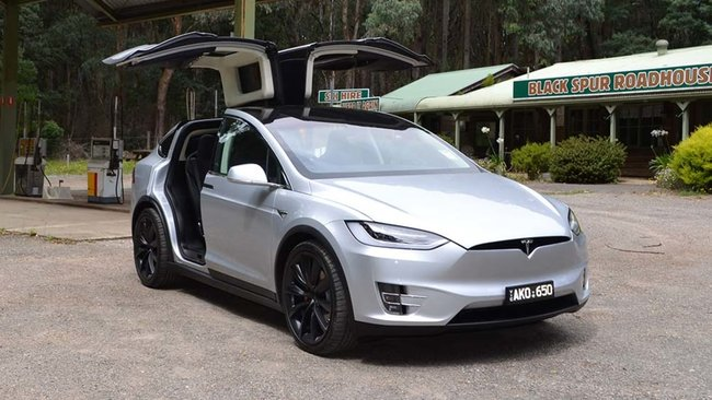 Tesla Model X Review Australian Price Specs And Fuel