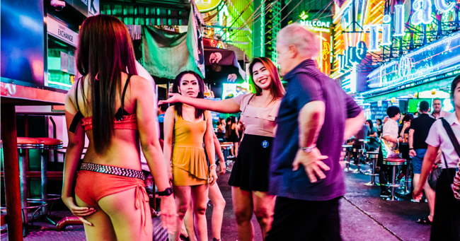 Its Hard To Believe The Things Women Will Put In And Shoot Out Of Their Vaginas Neon Lit Clubs Thailands Notorious Bangla Road