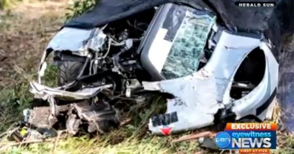 grant denyer rally crash video shows family feud host 39 s close call. Black Bedroom Furniture Sets. Home Design Ideas