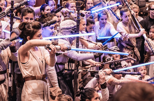 Women at 2017 Star Wars Celebration.