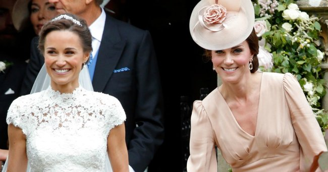 kate middleton pippa's wedding