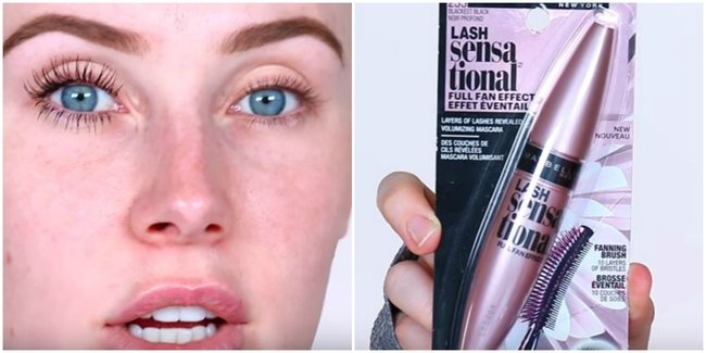 785187a980c A YouTuber just compared 6 volumising mascaras on camera. The best ...