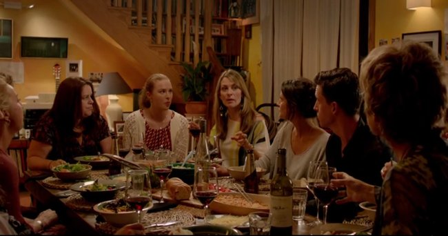 Offspring-ep-1-dinner-party