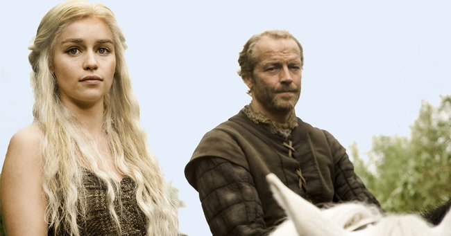 daenerys jorah Game of Thrones
