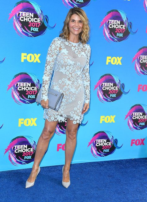 Lori Laughlin at the Teen Choice Awards 2017
