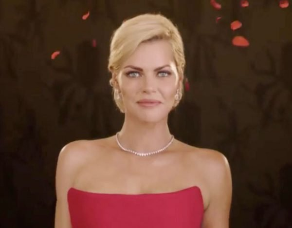 Sophie Monk Bachelorette Promo Red Dress