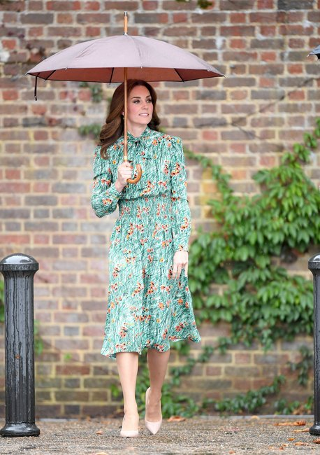 Kate-Middleton-Princess-Diana-floral-dress