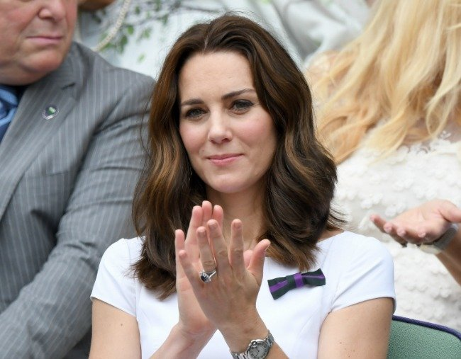 The only Kate Middleton nail polish the royals are allowed to wear.