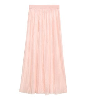 pleated skirt h&m