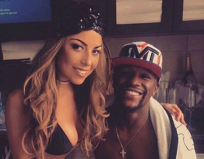 Who are Mayweather's girlfriends? We look at four women in his orbit
