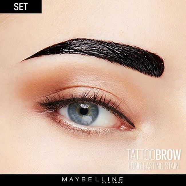 An honest and comprehensive maybelline brow tattoo gel review for Maybeline tattoo brow