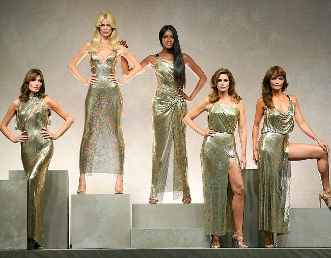 original supermodels reunion versace