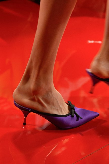 Kitten heels are back and the ugly fashion obsession continues.