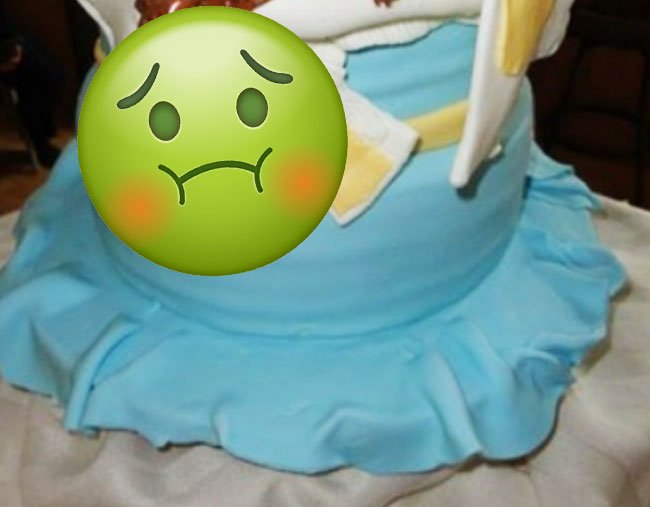 ... The World U0027s Worst Baby Shower Cake Has Been Discovered By The Gross  Birthday Cakes ...