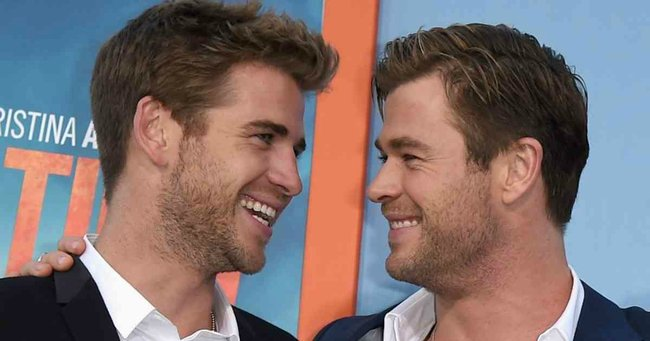 the story that explains why we love chris and liam hemsworth so much