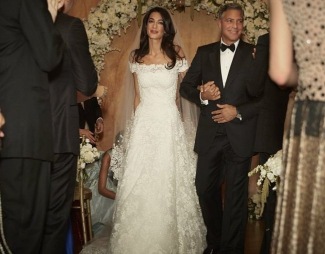 What celebrities have worn the most expensive wedding dresses?