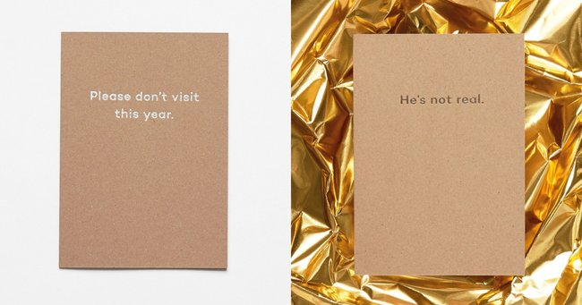 The brilliant but brutal Christmas cards you need to send this year.