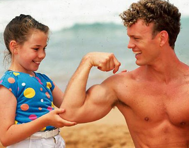 Craig McLachlan on Home & Away
